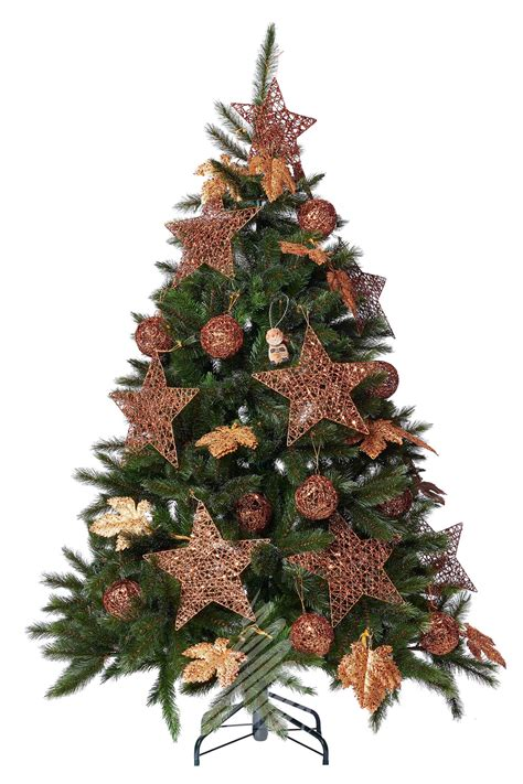 bristlecone pine 6ft artificial christmas tree with led