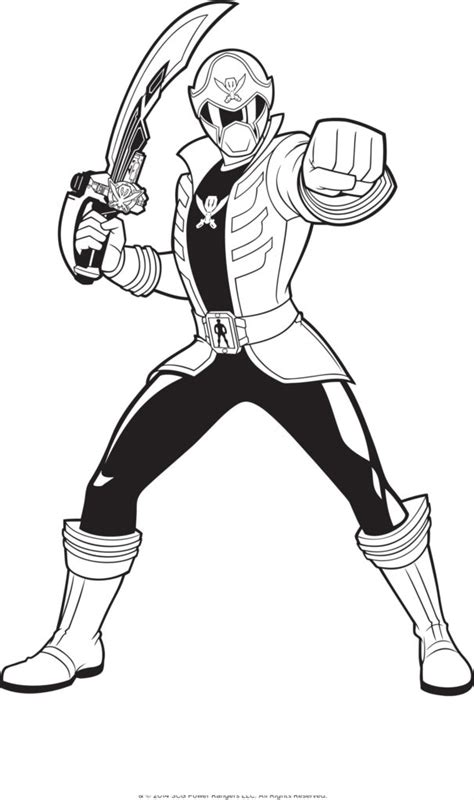 power rangers coloring pages pdf coloring pages power rangers holding a sword coloring