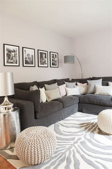 graues sofa 25 best ideas about gray decor on
