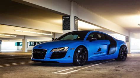 Blue Audi R8 Wallpaper Pixshark Com Images
