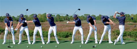 rickie fowler golf swing swing sequence rickie fowler australian golf digest
