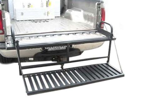 truck bed steps great day truck n buddy magnum tailgate step full width
