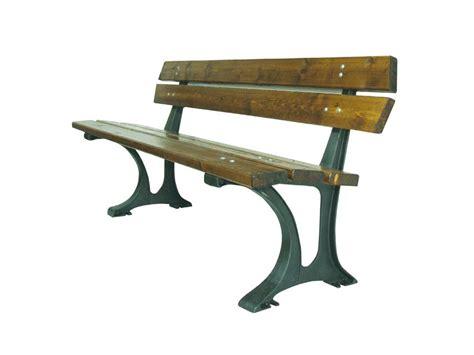panchina dwg panchina modena con piedi in alluminio e listoni in legno di