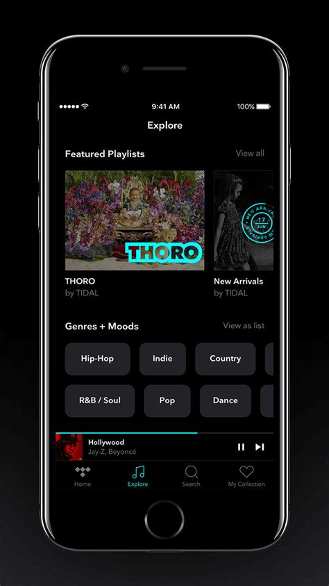 tidal   app  support  iphone