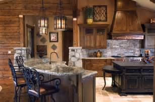 Cabin Kitchen Design Sophisticated Cabin Kitchen Eclectic Kitchen Other