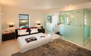 master bedroom bathroom ideas bedroom and bathroom 2 in 1 suites clever combos or risky designs