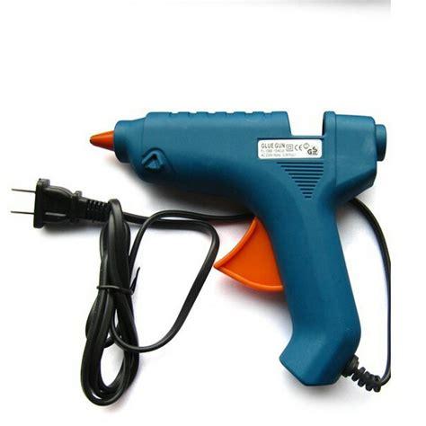 Glue Stik Isi Glue Gun Panjang 25 Cm Untuk Glue Stik Besar ce gs 40w 230v electric melting glue gun with 15pcs 25cm silicone glue sticks free
