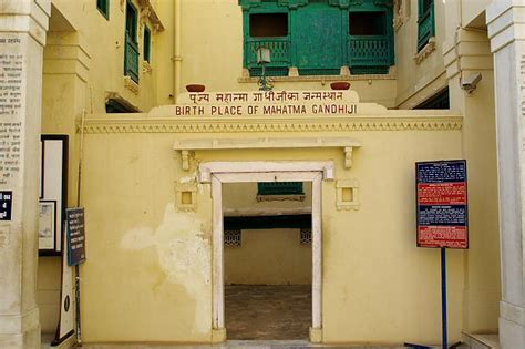 gandhi born place gandhiji ashram in porbandar on the way from dwarka to somnath