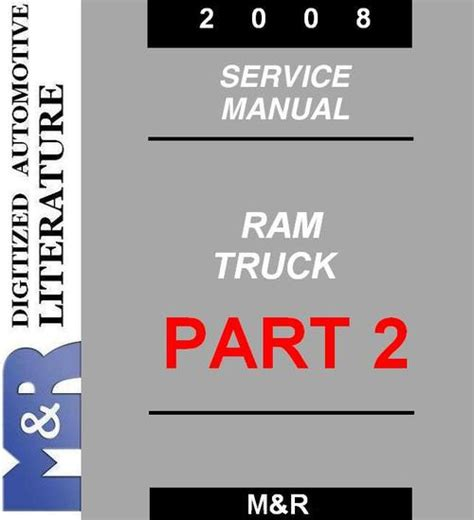 A Free Dating Service Guide Part 2 by 2008 Dodge Ram Service Manual Part2 Manuals