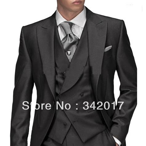 2014 cheap groom tuxedos morning style one button