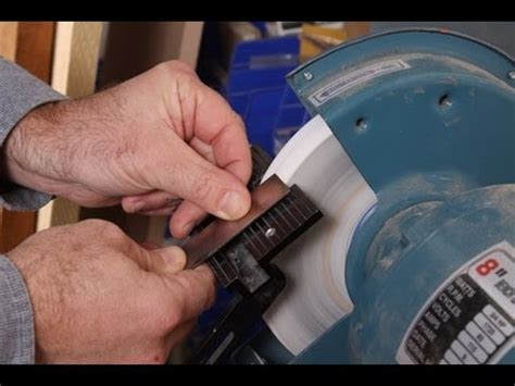 how to use a bench grinder bench grinder basics youtube