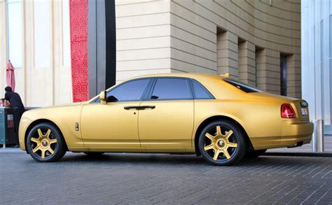 rolls royce ghost gold matte gold rolls royce ghost in dubai dubaimetro eu