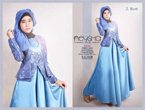 Best Seller Gamis Syari Helga Lavender Baju Muslim Terbarubaju Muslim balimo neysha blue baju muslim gamis modern