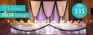 decoration packages cheap wedding decoration packages 187 wedding decoration