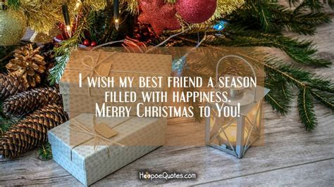 friend  season filled  happiness merry christmas   hoopoequotes