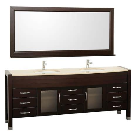 78 bathroom vanity 78 quot daytona double sink vanity espresso bathgems com