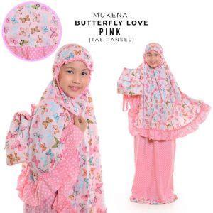 Mukena My Melody Sweet Pink jual mukena anak size s 4 5 6 tahun model terbaru 2019