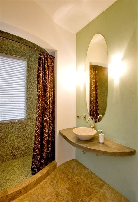Cafe Curtains For Bathroom Outstanding Cafe Curtains For Bathroom With Vessel Sink Curved Walls