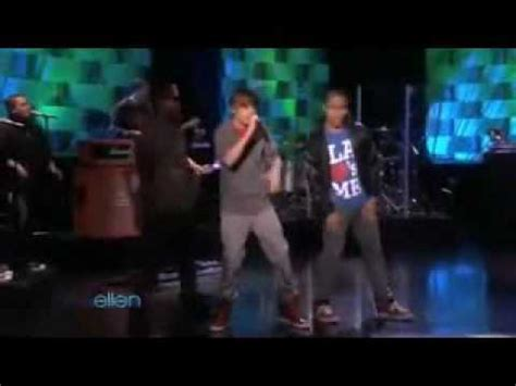 justin bieber live on ellen 2012 justin bieber singing baby live on ellen may 17th youtube