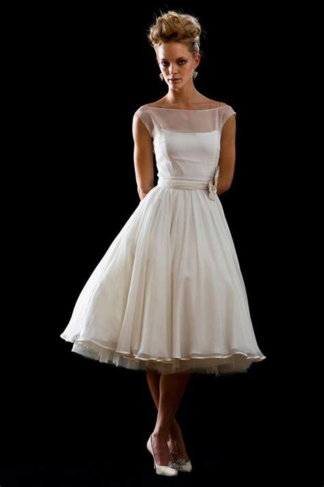 Tea Length Wedding Dresses by Tea Length Ivory Wedding Dresses Sang Maestro