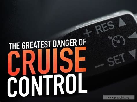 Danger Cruise sermon by title the greatest danger of cruise