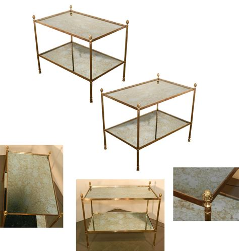 Maison Set side tables from maison bagu 232 s set of 2 for sale at pamono