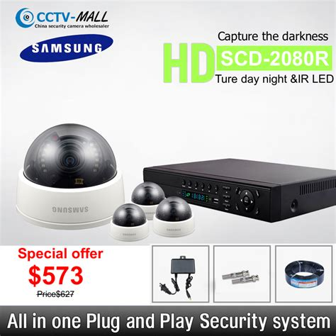 wholesale samsung security systems 4 channel hd 4