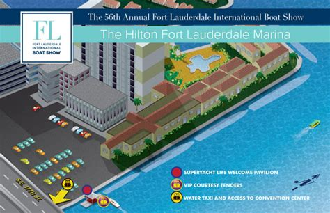 fort lauderdale boat show 2018 parking overview maps at fort lauderdale international boat show 2018