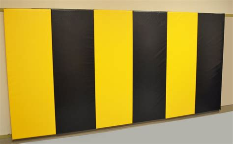 6 x 12 x 2 quot removable folding wall pad with velcro
