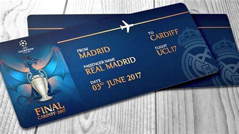 entradas para futbol real madrid chions 2017 c 243 mo comprar entradas para la