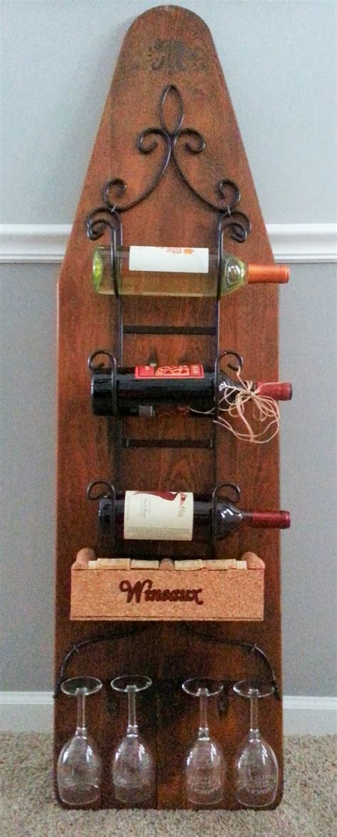 Ironing Board Rack by 12 Clever Uses For An Ironing Board
