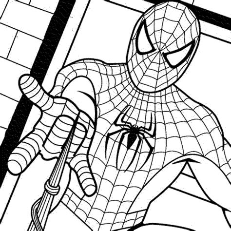 spiderman coloring pages coloring pages of spiderman