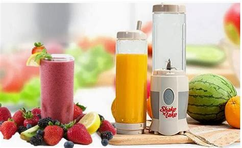 Juicer Shake And Take shake and take blend n go dengan 2 gelas juicer 306