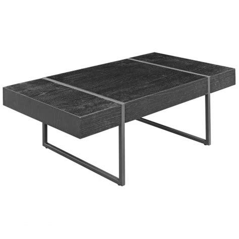 black oak wood effect coffee table