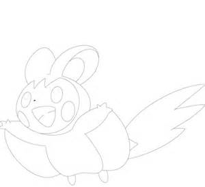 pokemon coloring pages joltik emolga coloring page free printable coloring pages