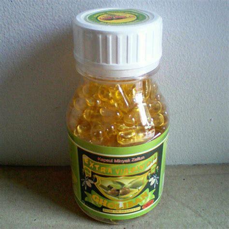 Minyak Habasyah 200 Kapsul kapsul minyak zaitun gholiban isi 200 alzafa alzafa store