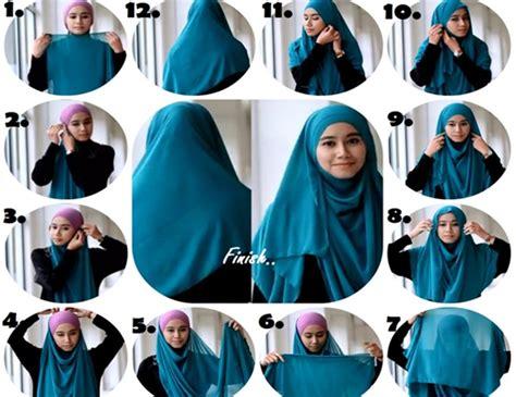 tutorial hijab persegi syar i hijab tutorial hijab simple nyaman cantik dan syar i