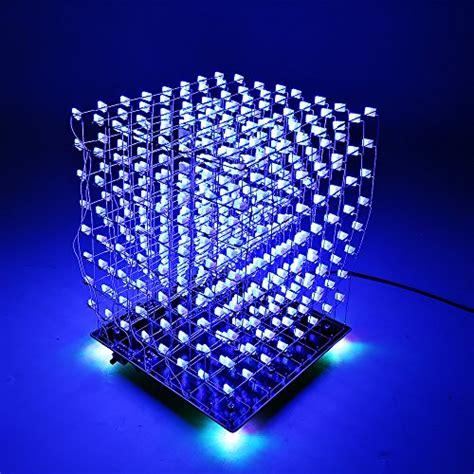SainSmart 3D LightSquared DIY Kit 8x8x8 5mm LED Cube White