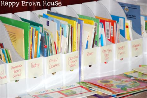organization books organizing children s books happy brown house