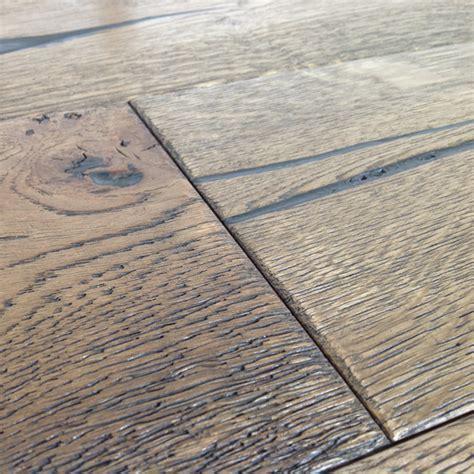 Loire Distressed 20mm Mocha Oak Heavy Brushed Engineered