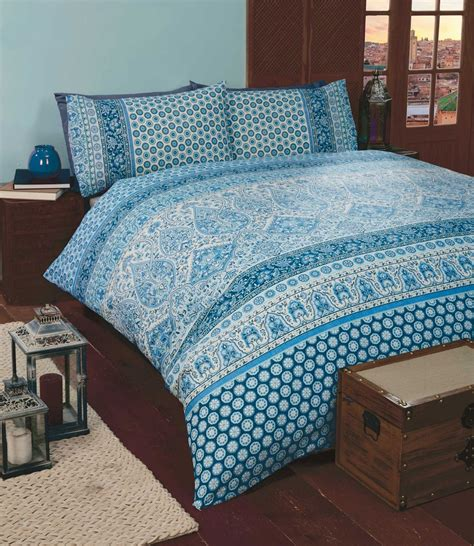 elephant bedding set indian style elephant quilt duvet cover pillowcase