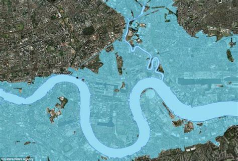 Thames Barrier Rising Sea Levels | thames barrier turns 30 stunning images reveal the