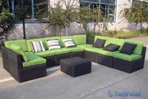 outdoor sitzlounge zestaw rattanowych mebli ogrodowych meble ogrodowe