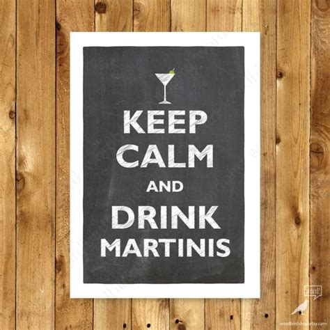 martini bar decor martini bar keep calm poster bar bartender