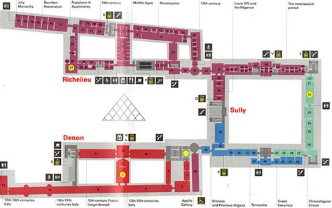 louvre museum floor plan tips for visiting the louvre see the world