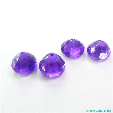 amethyst gemstone medium purple color