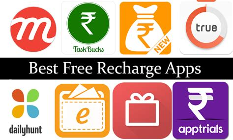 best free apps top 20 best free recharge apps for android 2018