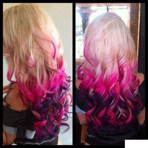 multi color hairstyles multicolor hair cuts and hairstyle hair dyed hair