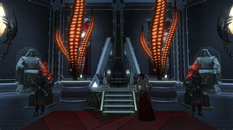 throne room wars swtor karath s throne room the ebon hawk tor decorating