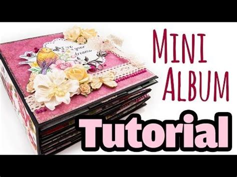 Scrapbooking Tutorial Deutsch | scrapbook tutorial mini album quot bohemian quot deutsch